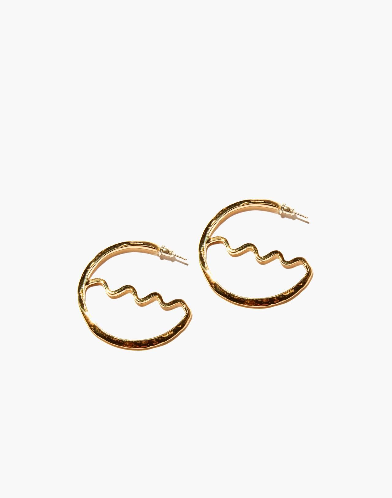 Odette New York® Cygne Earrings in gold image 1