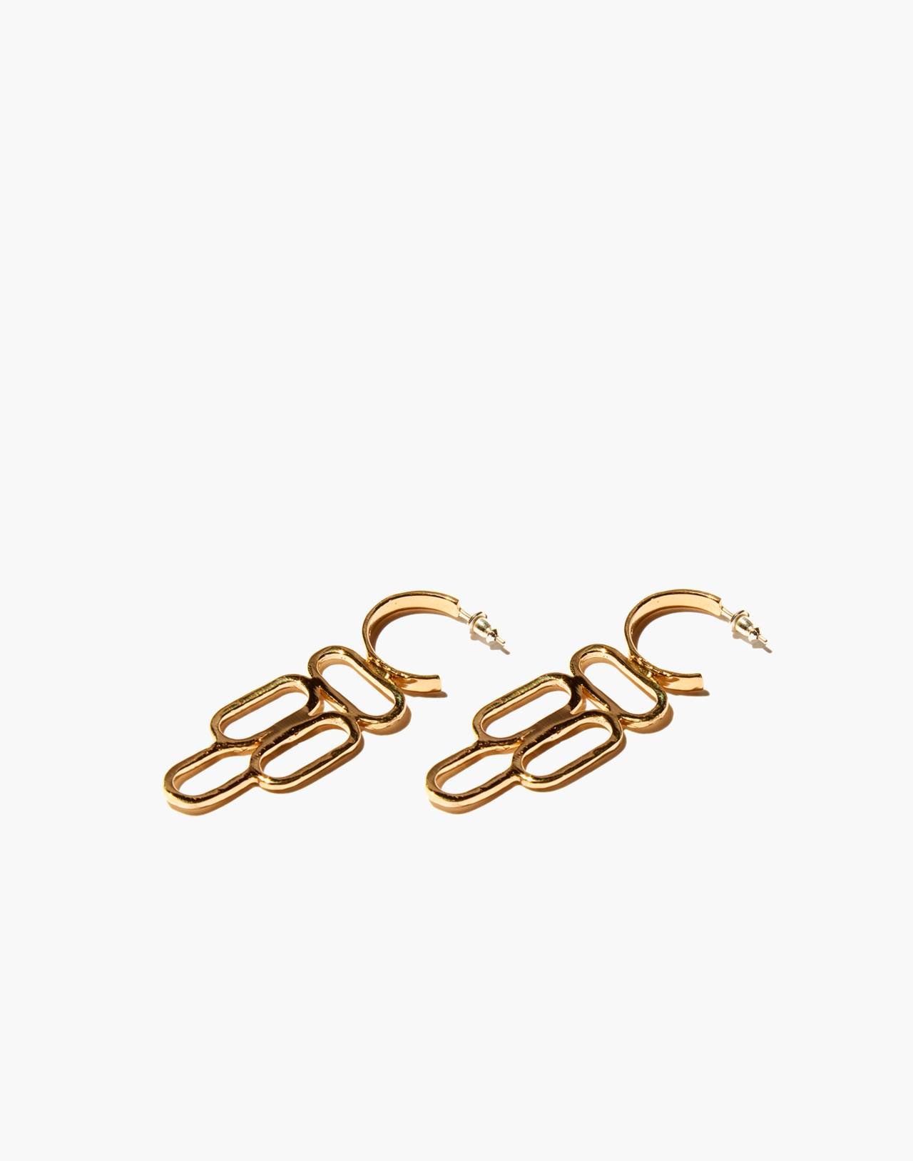Odette New York® Dauphin Earrings in gold image 1