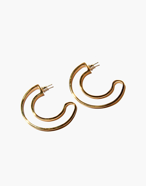Odette New York® Helene Earrings in gold image 1