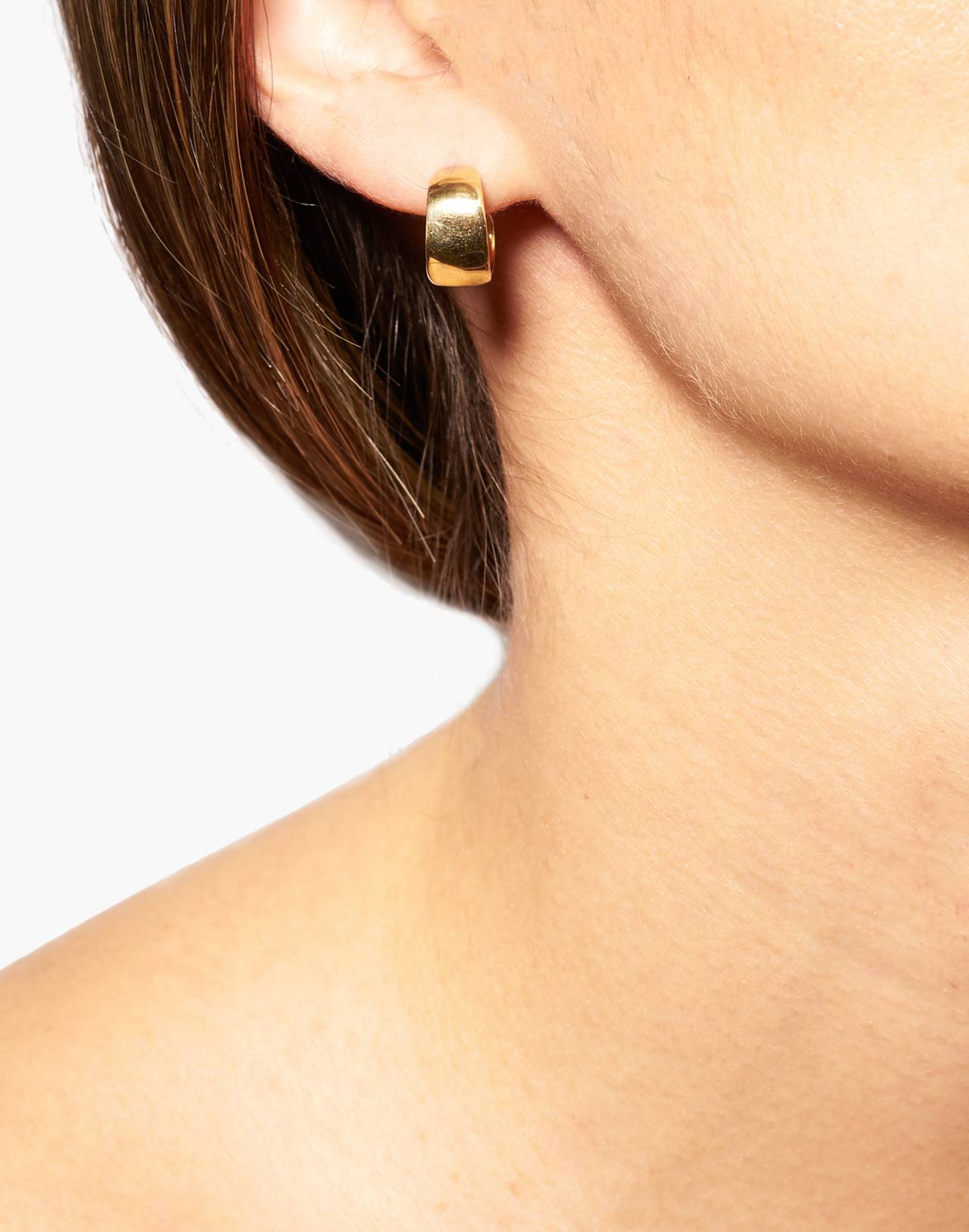 Odette New York® Lac Hoop Earrings in gold image 2