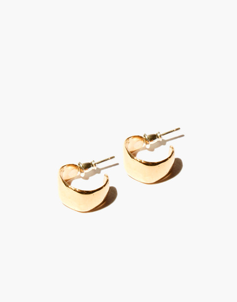 Odette New York® Lac Hoop Earrings in gold image 1
