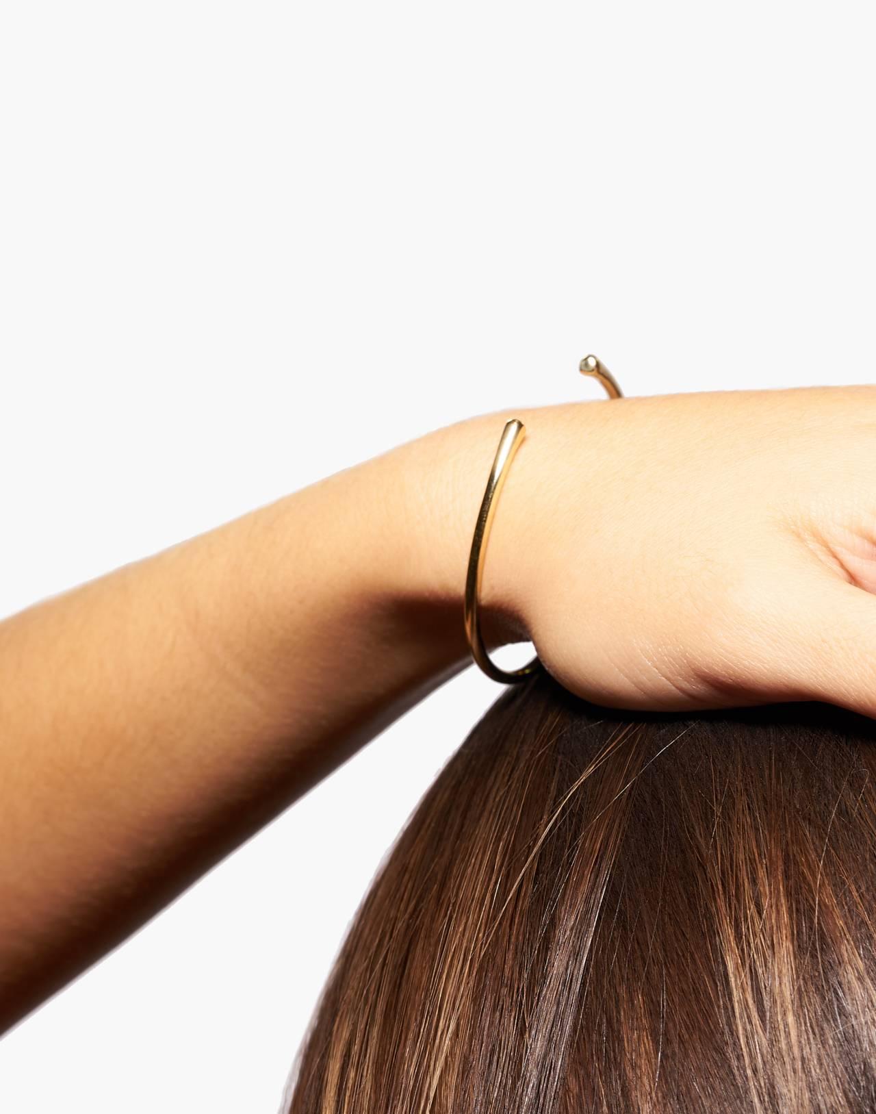 Odette New York® Pointe Cuff Bracelet in gold image 2
