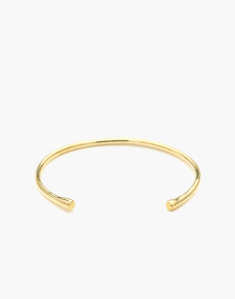 Odette New York® Pointe Cuff Bracelet in gold image 1