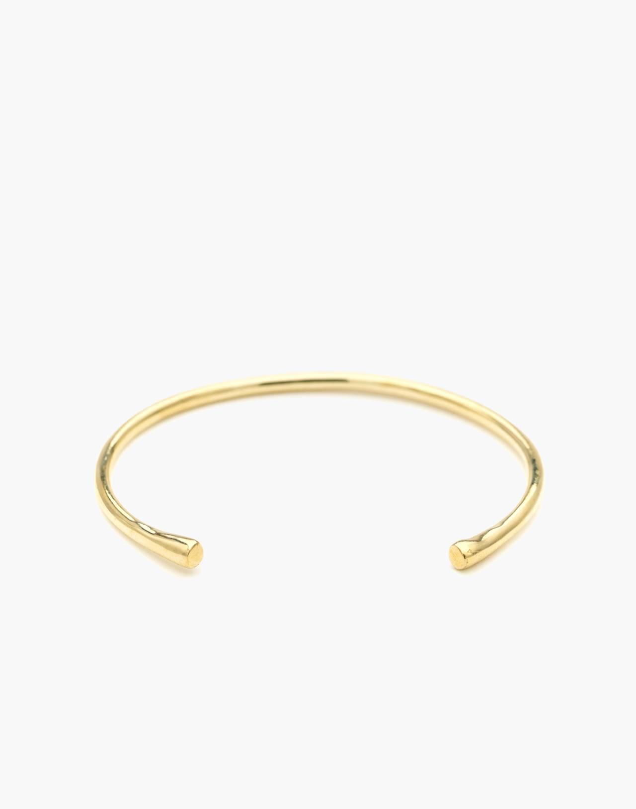 Odette New York® Pointe Cuff Bracelet in gold image 1