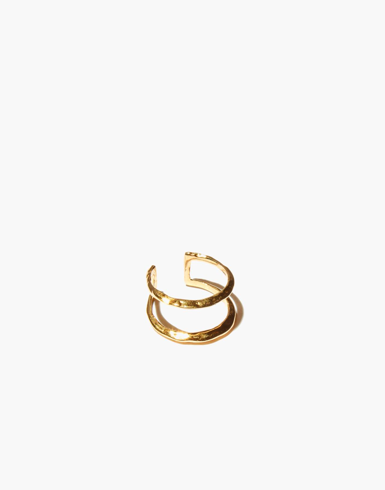 Odette New York® Ridge Stack Ring in gold image 1