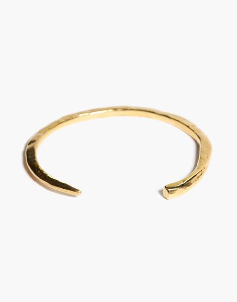 Odette New York® Slope Cuff Bracelet in gold image 2