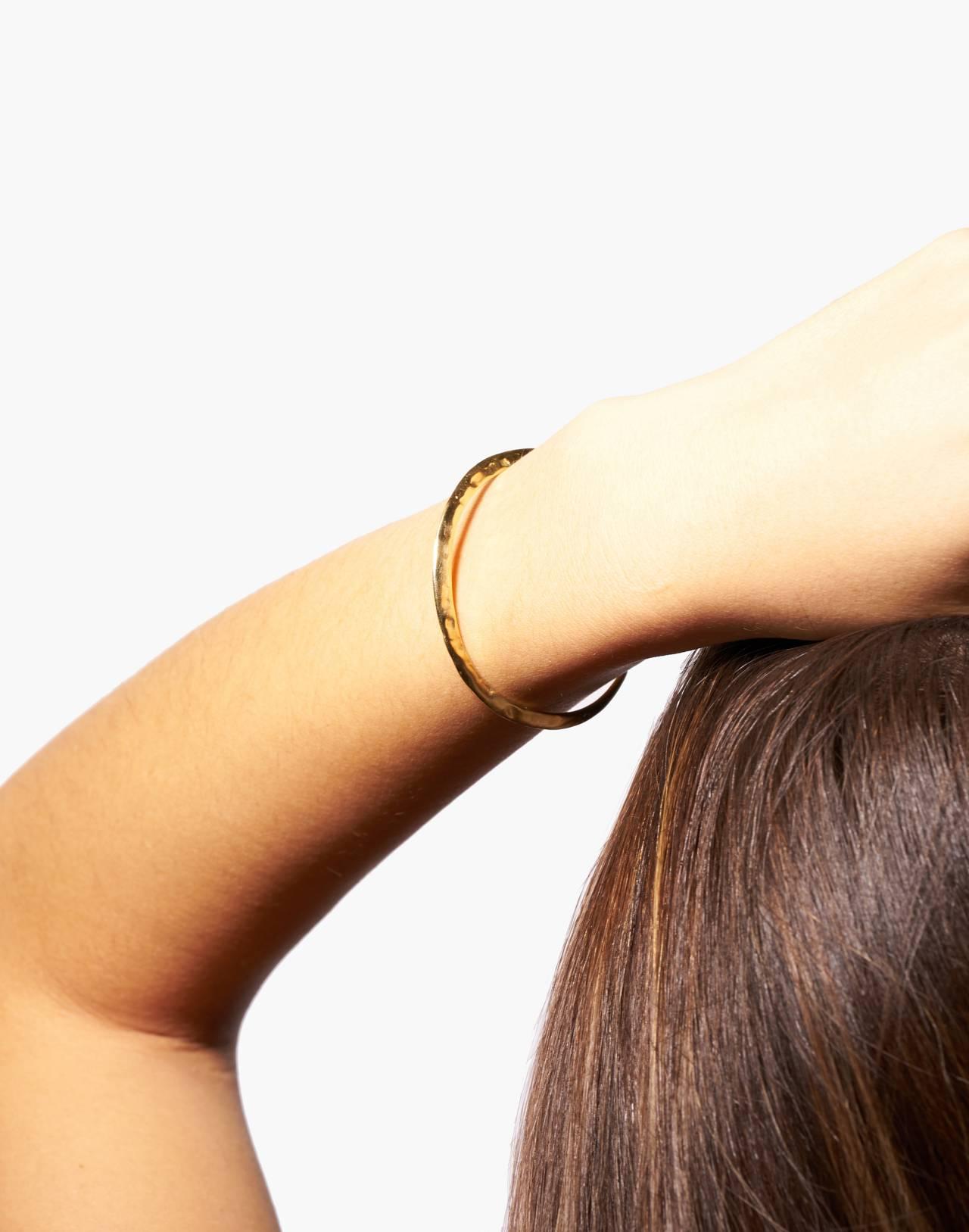 Odette New York® Slope Cuff Bracelet in gold image 3