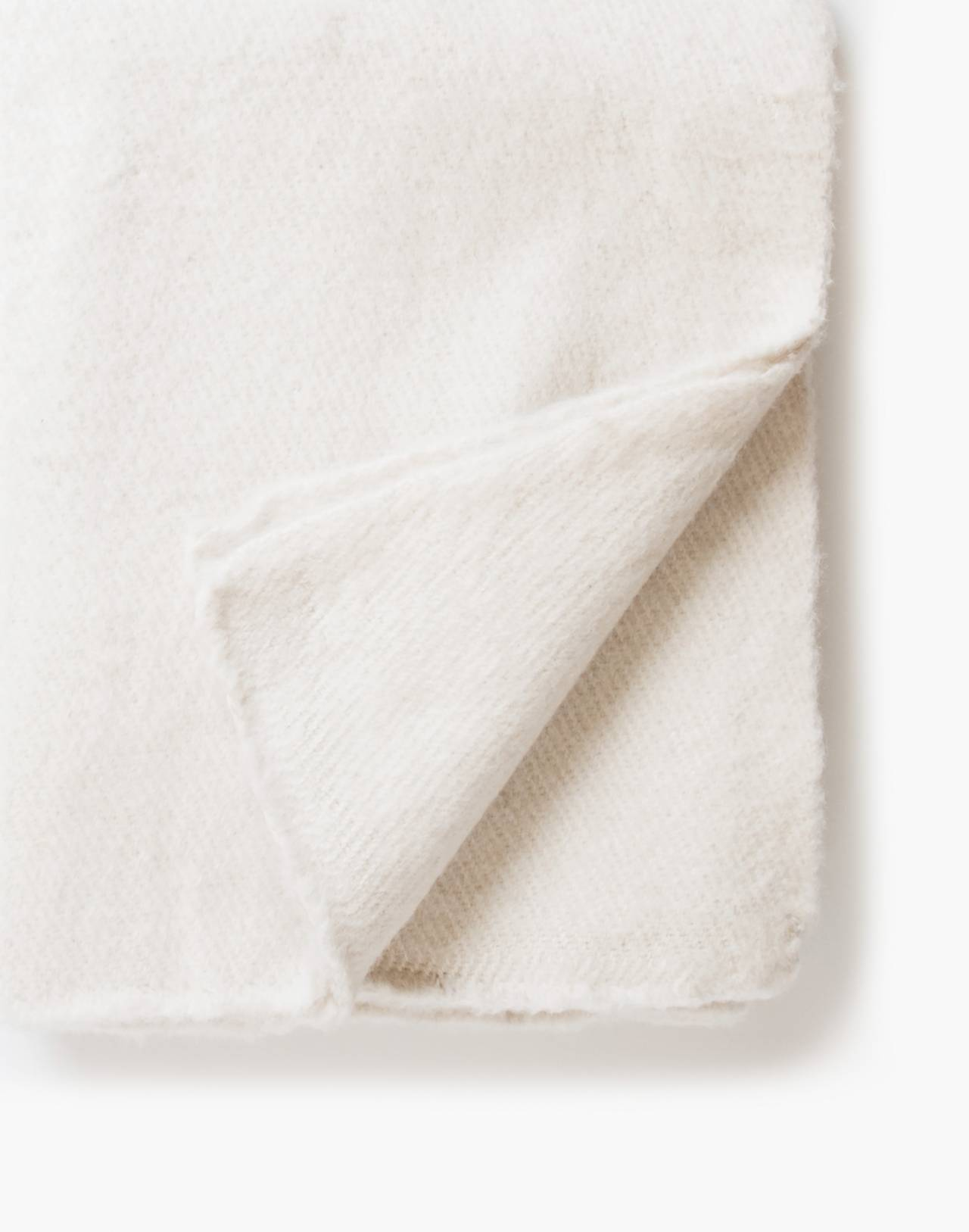SOMEWARE™ Sabana Wool Throw in white image 1