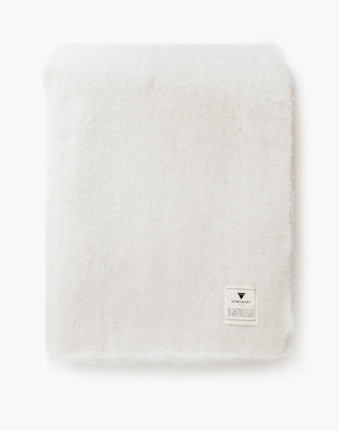 SOMEWARE™ Sabana Wool Throw in white image 3