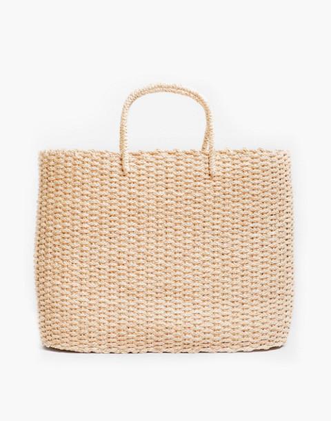 SOMEWARE™ Brigette Basket Bag in nude image 1