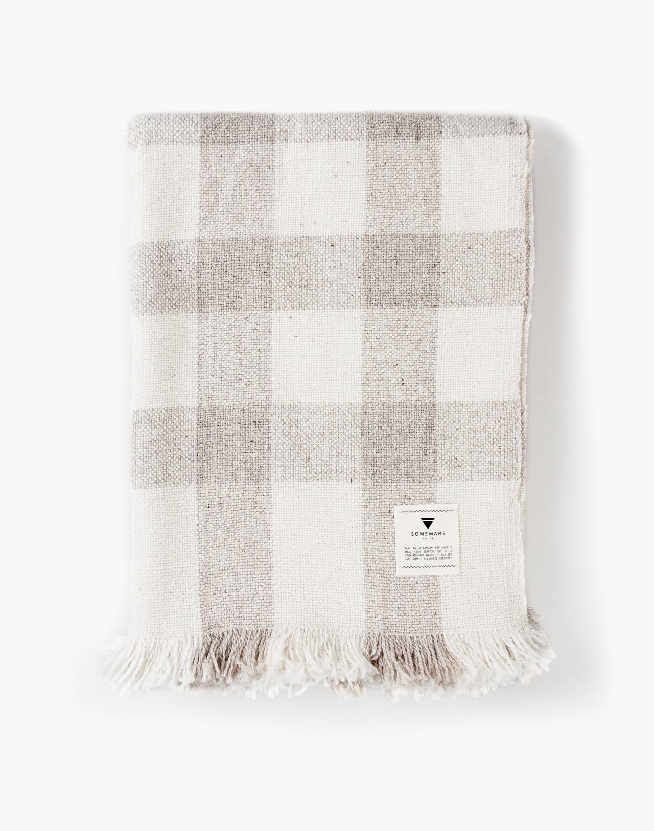 SOMEWARE™ Monterey Throw in grey image 3