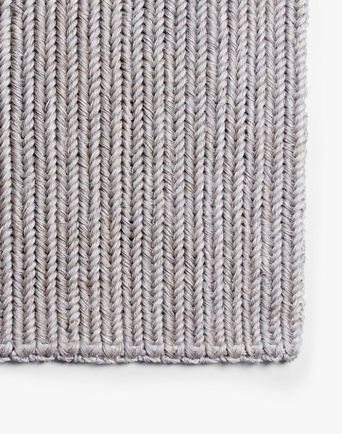 SOMEWARE™ Braided Doormat in grey image 1
