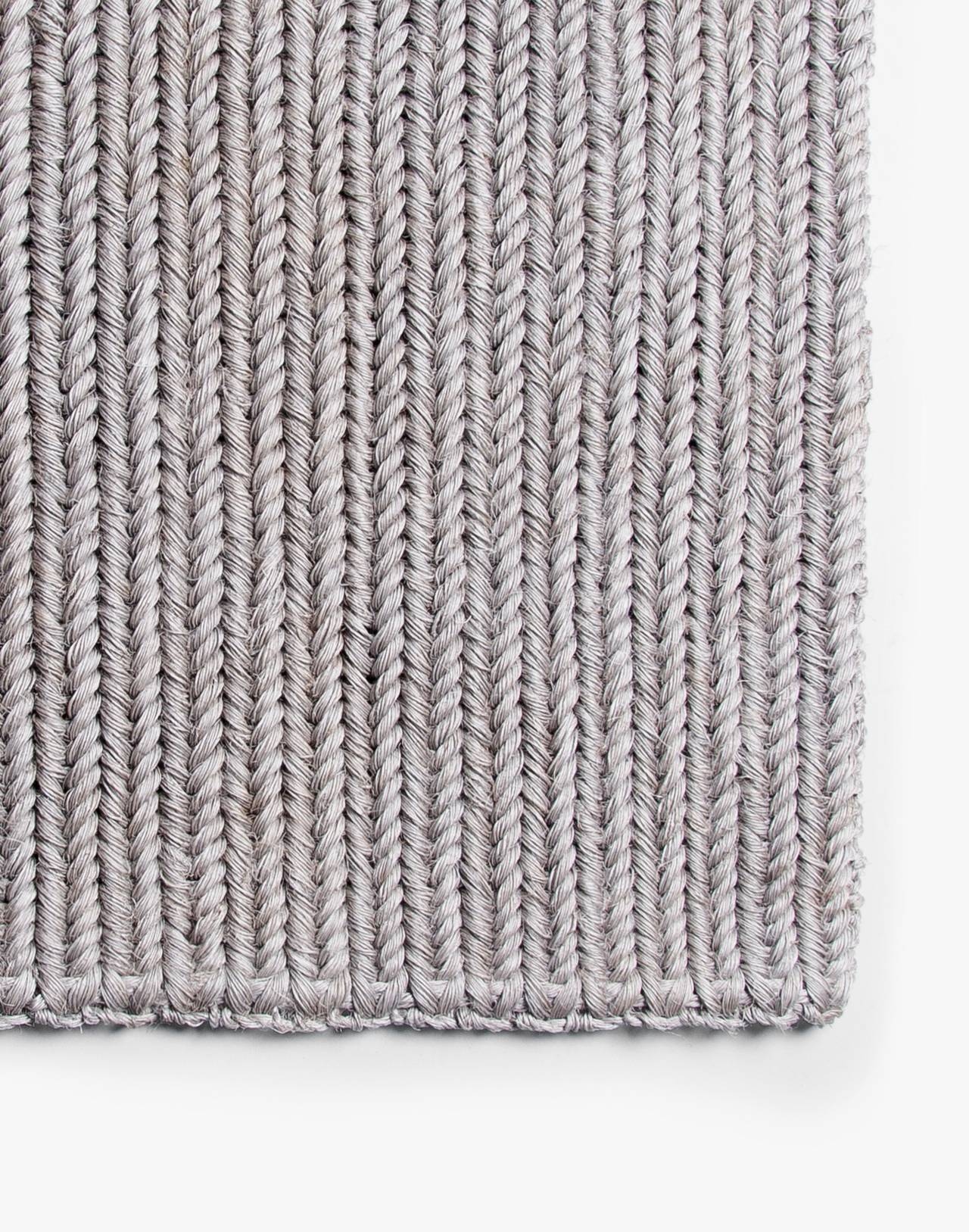 SOMEWARE™ Braided Doormat in grey image 1