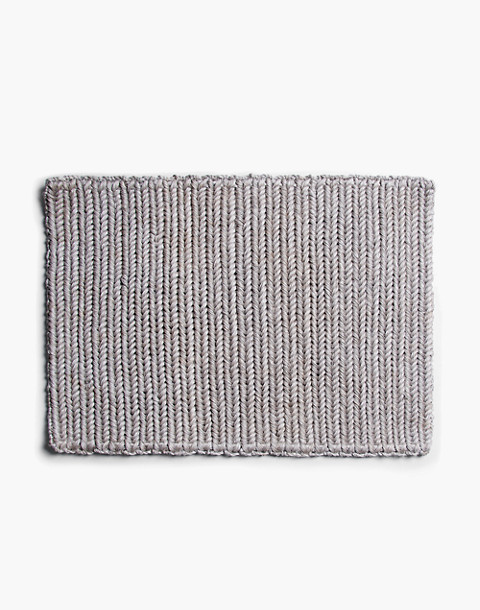SOMEWARE™ Braided Doormat in grey image 2