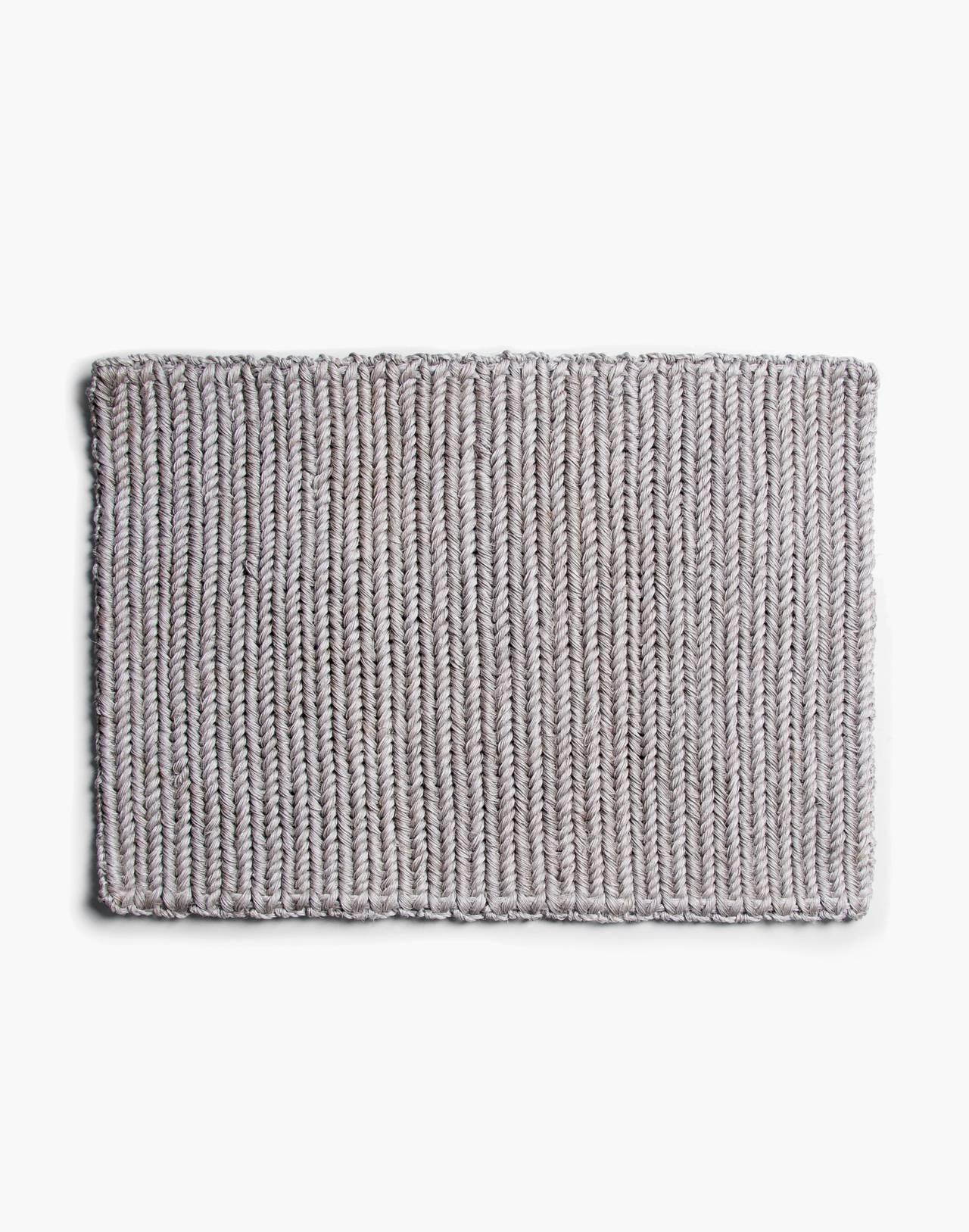 SOMEWARE™ Braided Doormat in grey image 2