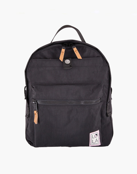 LOLA™ Mondo Escapist Large Backpack in black image 1