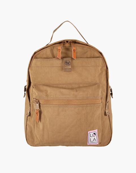 LOLA™ Mondo Escapist Large Backpack in light brown image 1