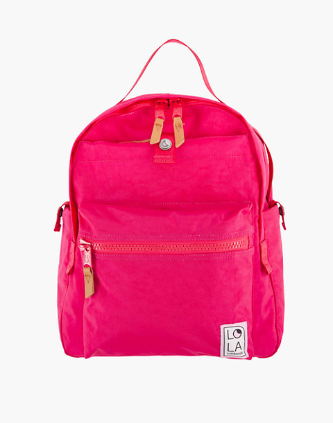 LOLA™ Mondo Escapist Large Backpack in pink image 1