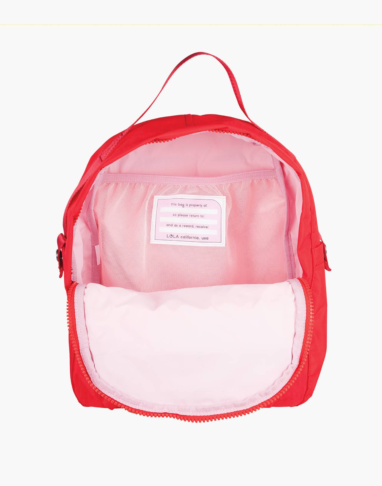 LOLA™ Mondo Escapist Large Backpack in red image 2