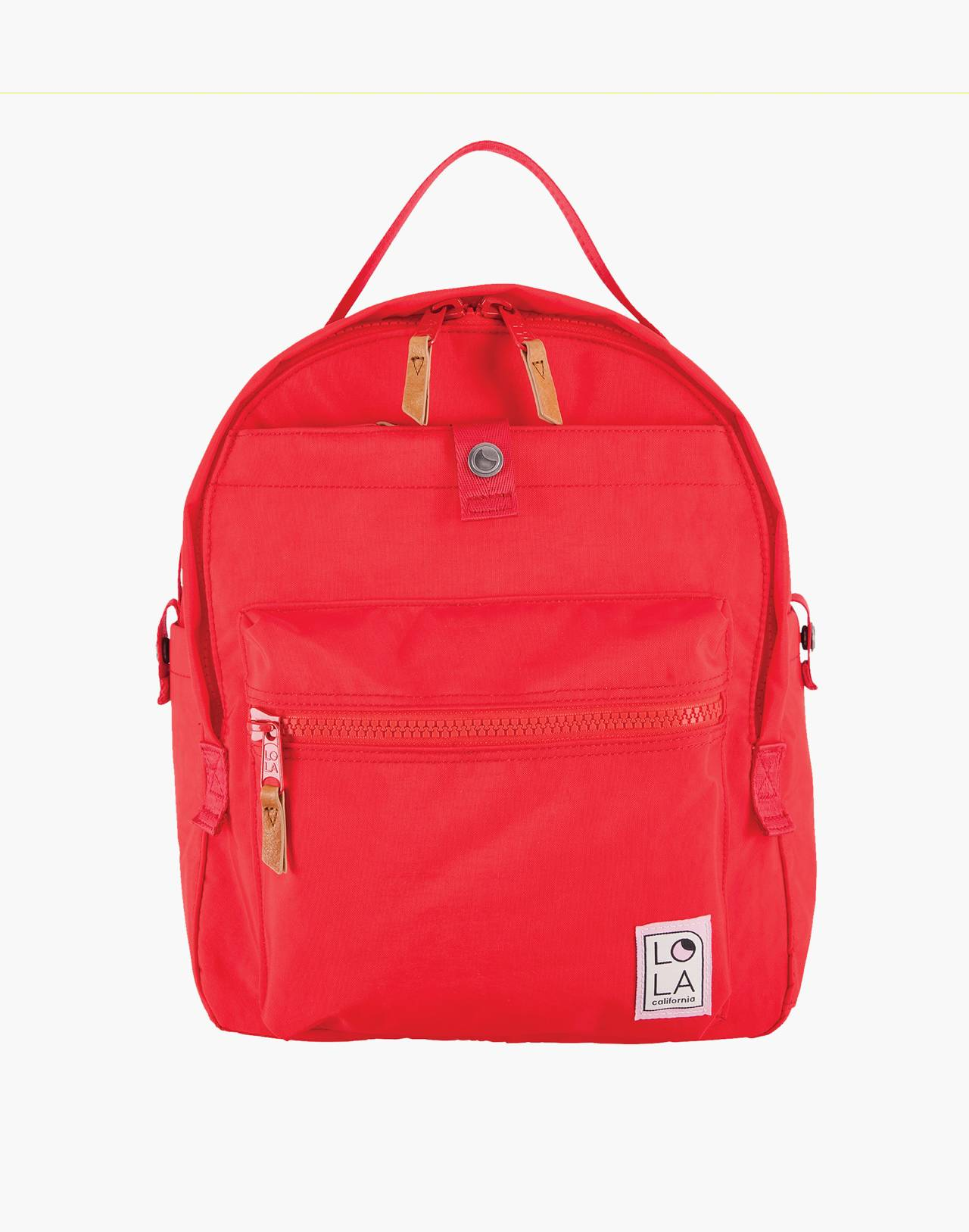 LOLA™ Mondo Escapist Large Backpack in red image 1
