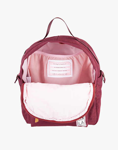 LOLA™ Mondo Escapist Large Backpack in dark red image 2