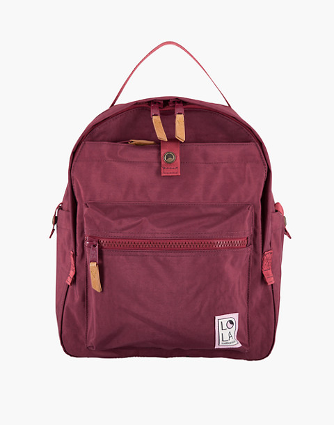 LOLA™ Mondo Escapist Large Backpack in dark red image 1