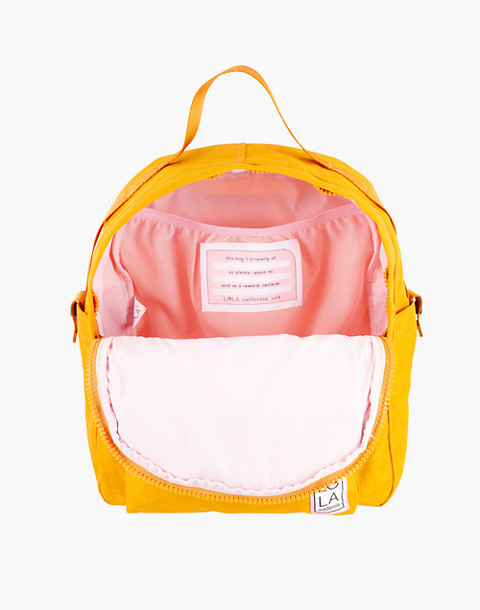 LOLA™ Mondo Escapist Large Backpack in yellow image 2