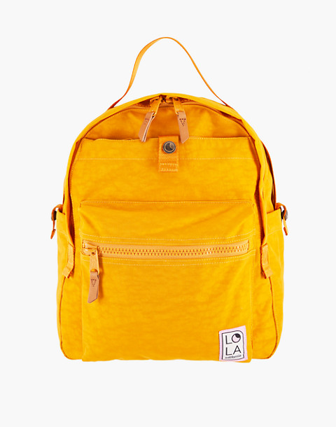 LOLA™ Mondo Escapist Large Backpack in yellow image 1