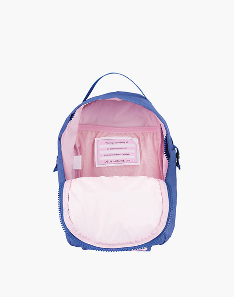 LOLA™ Mondo Utopian Small Backpack in blue image 2