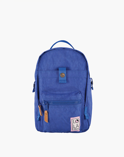 LOLA™ Mondo Utopian Small Backpack in blue image 1