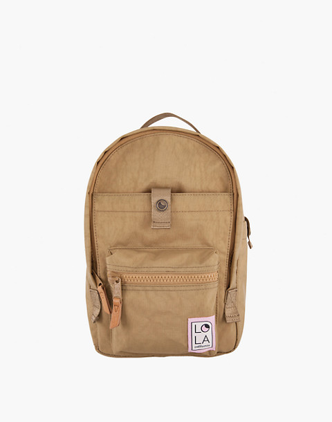 LOLA™ Mondo Utopian Small Backpack in light brown image 1
