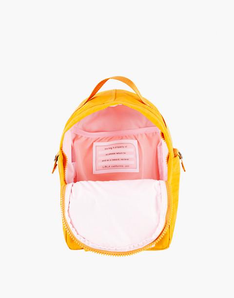 LOLA™ Mondo Utopian Small Backpack in yellow image 2