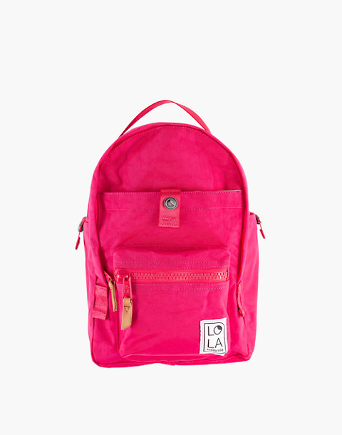 LOLA™ Mondo Utopian Small Backpack in pink image 1