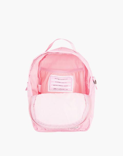 LOLA™ Mondo Utopian Small Backpack in light pink image 2