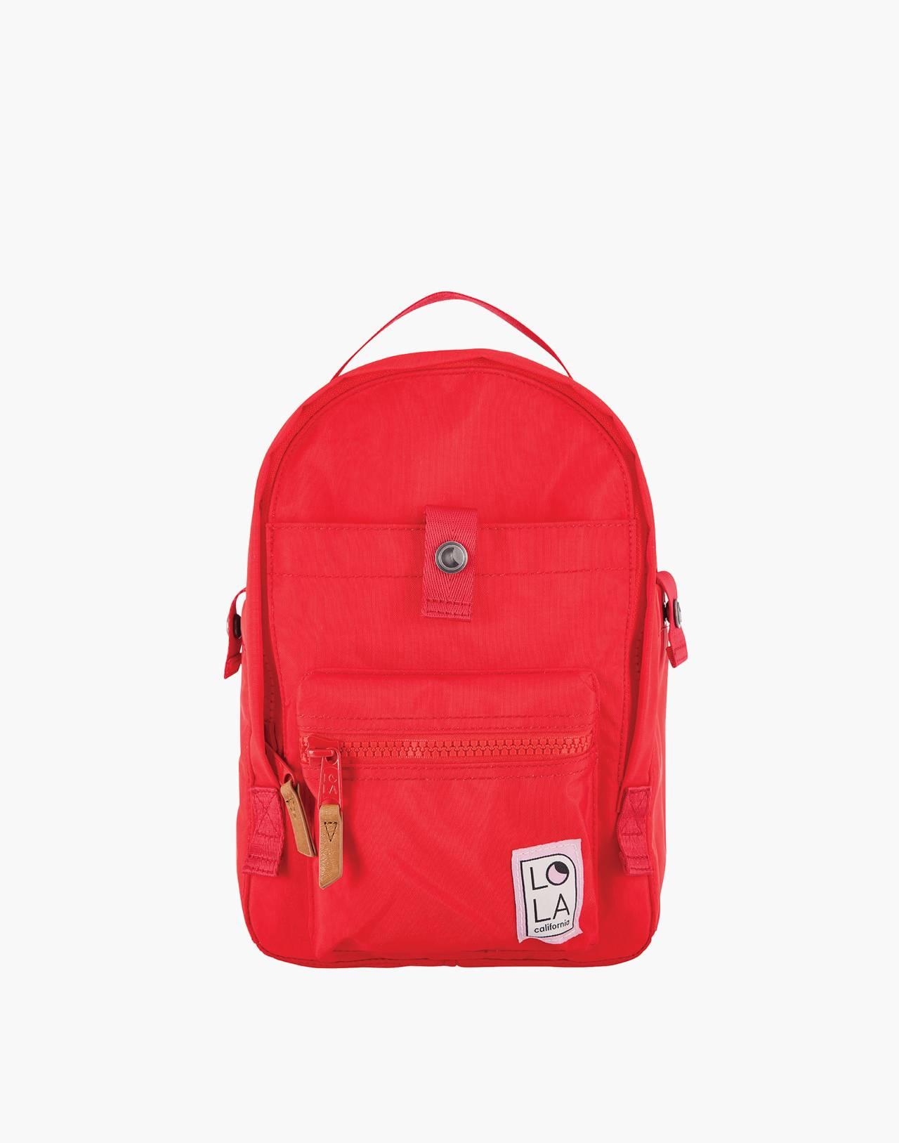 LOLA™ Mondo Utopian Small Backpack in red image 1
