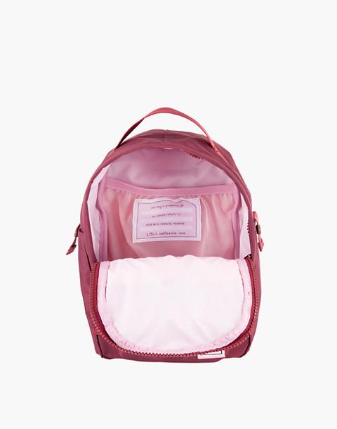LOLA™ Mondo Utopian Small Backpack in dark red image 2