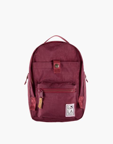 LOLA™ Mondo Utopian Small Backpack in dark red image 1