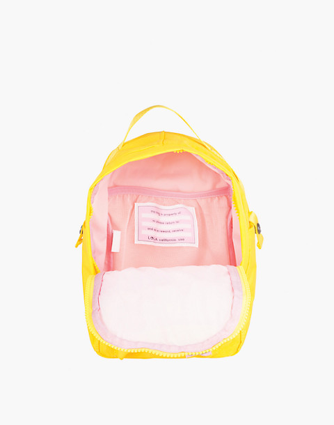 LOLA™ Mondo Utopian Small Backpack in yellow image 2