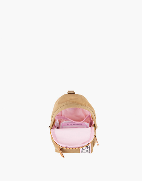 LOLA™ Mondo Stargazer Mini Convertible Backpack in light brown image 2