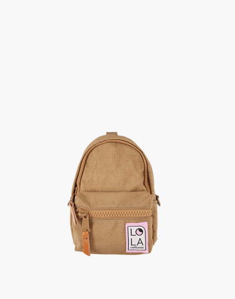 LOLA™ Mondo Stargazer Mini Convertible Backpack in light brown image 1