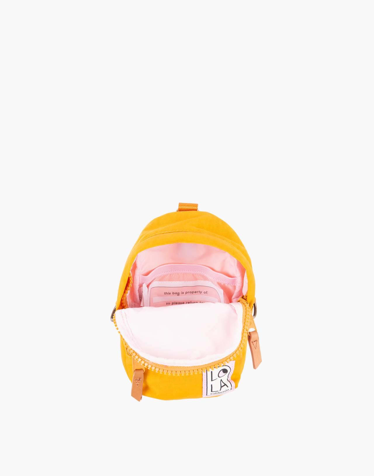 LOLA™ Mondo Stargazer Mini Convertible Backpack in yellow image 2
