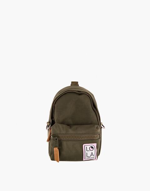 LOLA™ Mondo Stargazer Mini Convertible Backpack in dark green image 1
