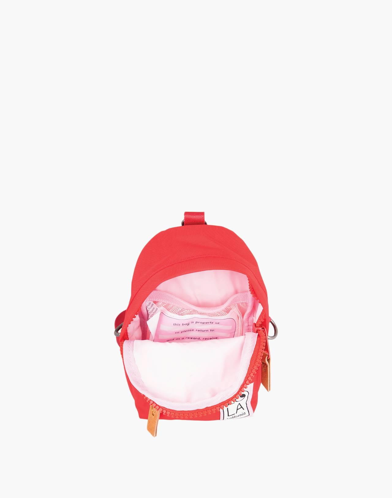 LOLA™ Mondo Stargazer Mini Convertible Backpack in red image 2
