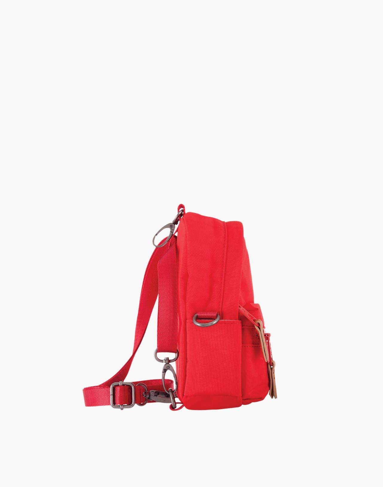LOLA™ Mondo Stargazer Mini Convertible Backpack in red image 3