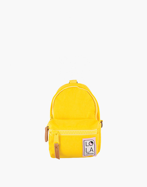 LOLA™ Mondo Stargazer Mini Convertible Backpack in yellow image 1