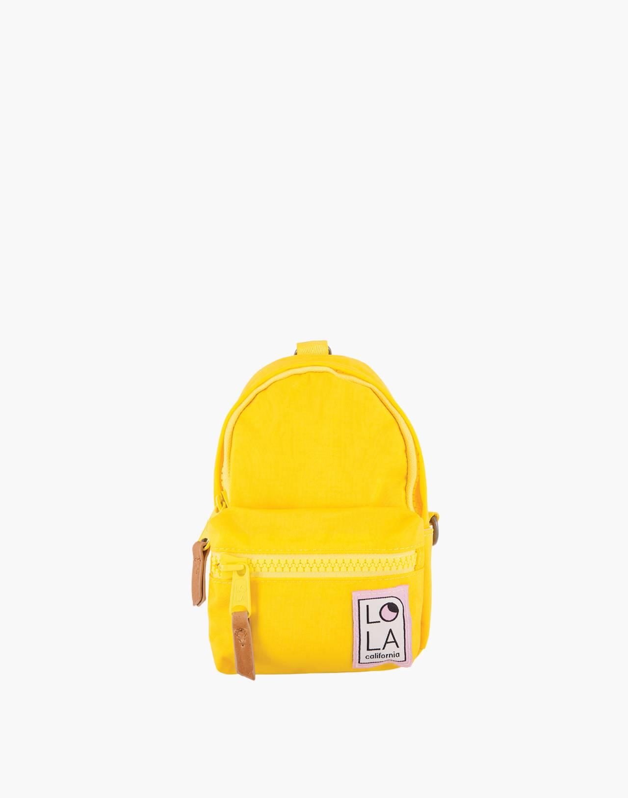 LOLA™ Mondo Stargazer Mini Convertible Backpack in yellow image 1