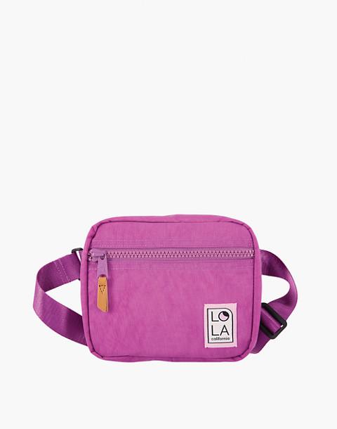 LOLA™ Mondo Hippie Fanny Pack in purple image 1