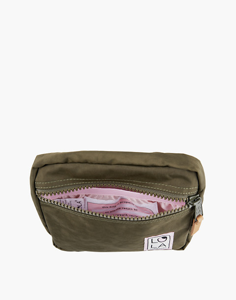 LOLA™ Mondo Hippie Fanny Pack in dark green image 1