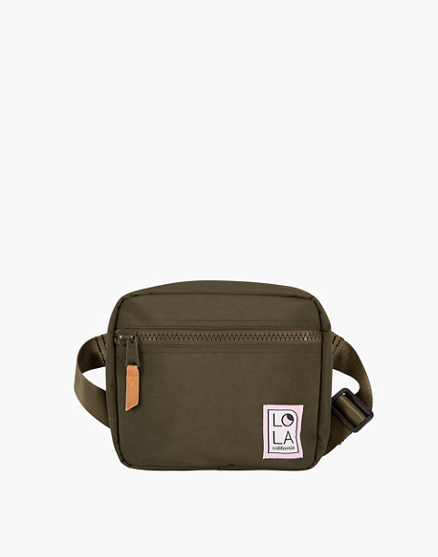 LOLA™ Mondo Hippie Fanny Pack in dark green image 3
