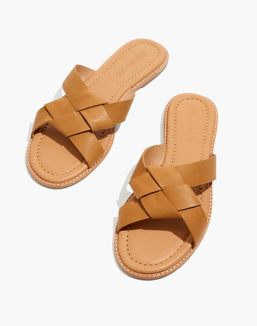 The Jamie Knotted Slide Sandal by Madewell
